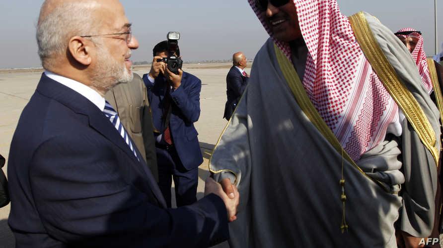 وزير الخارجية الكويتي مع نظيره العراقي - أرشيف