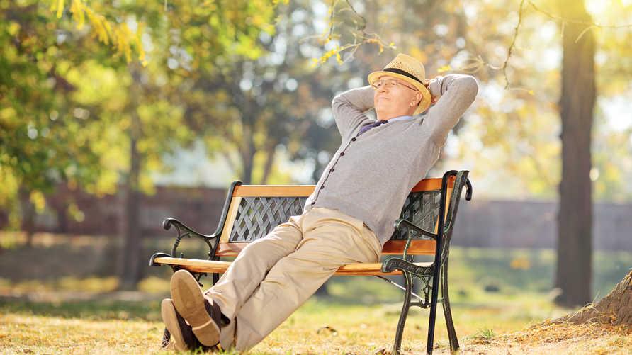 رجل مسن - صورة تعبيرية