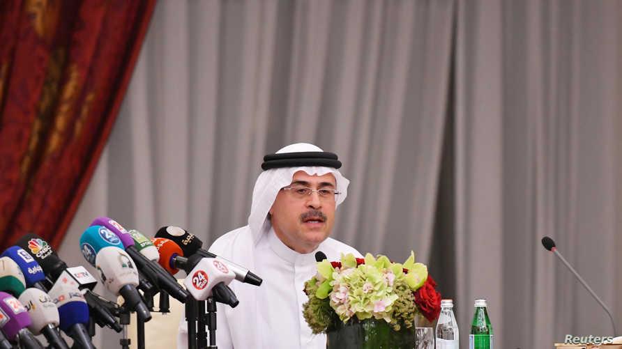 الرئيس وكبير الإداريين التنفيذيين لشركة أرامكو السعودية أمين الناصر