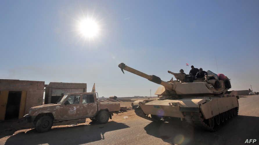 قوات عراقية في جنوب تلعفر - أرشيف