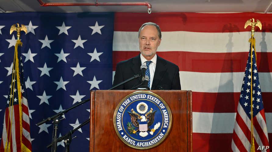 السفير الأميركي في أفغانستان جيمس كانينغهام