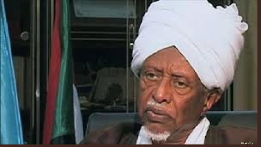 الرئيس السوداني الأسبق عبد الرحمن سوار الذهب