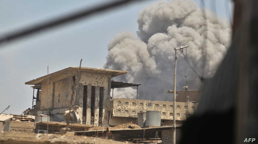 انفجار في الموصل القديمة