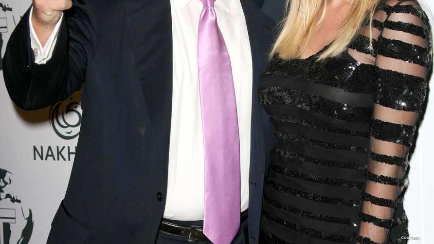 إيفانكا ترامب مع والدها