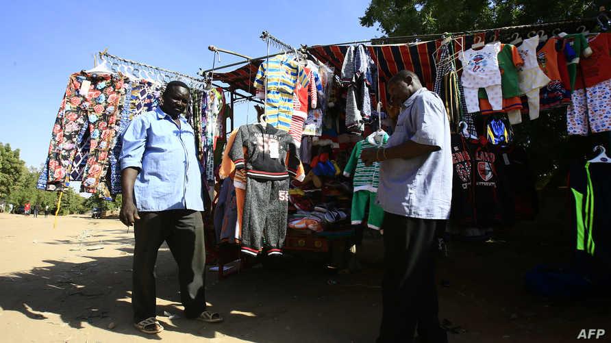 بسطة ثياب في الخرطوم