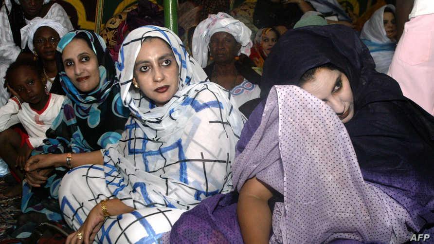 سيدات موريتانيات