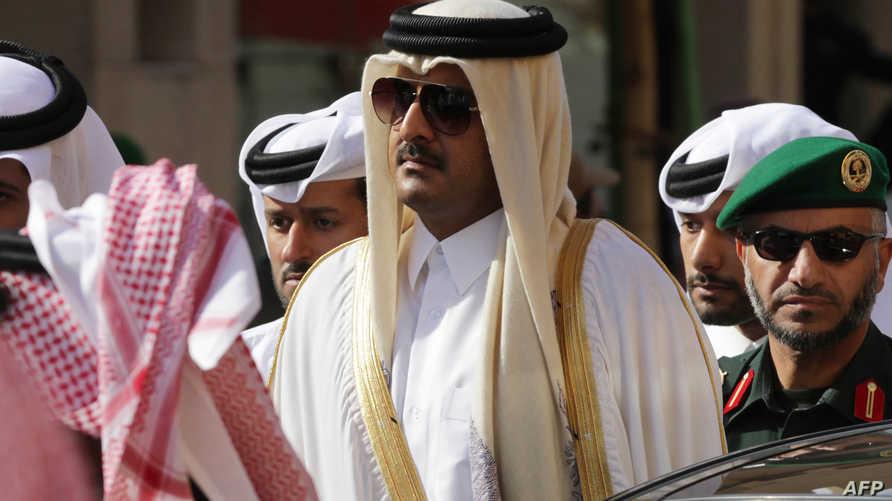 أمير قطر الشيخ تميم بن حمد آل ثاني- أرشيف