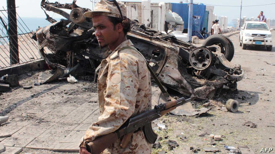 جندي يمني في عدن