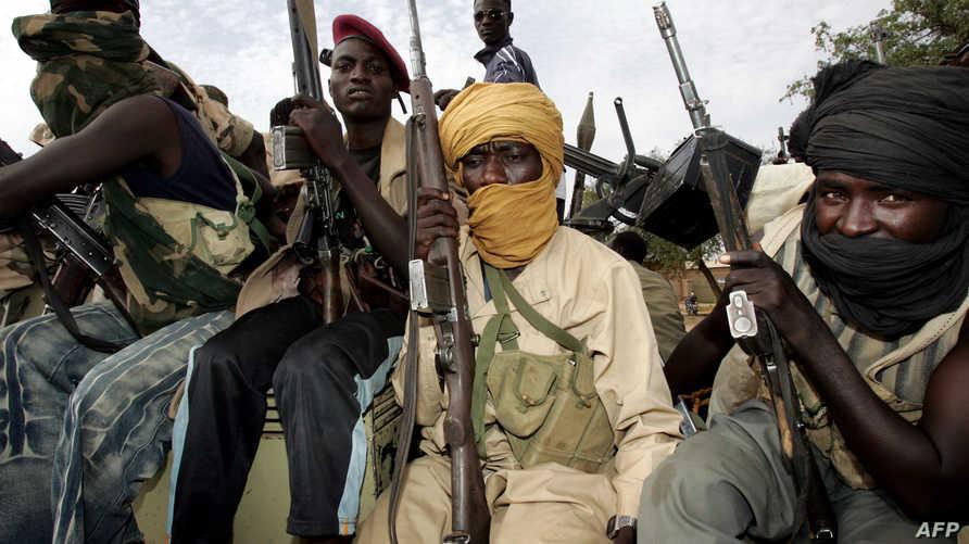 متمردون من حركة تحرير السودان موالون لمني ميناوي- أرشيف