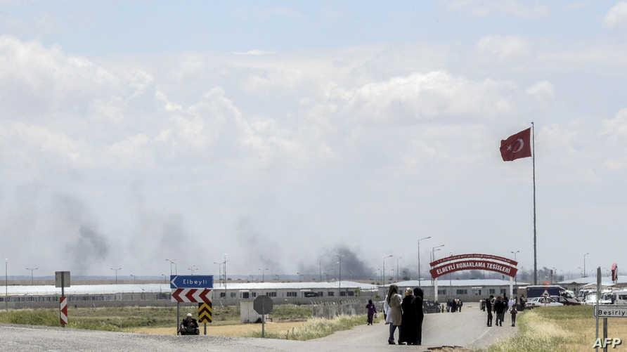 قصف تركي لمواقع داعش على الحدود السورية