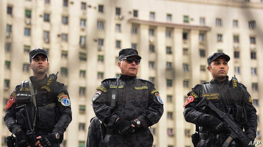 عناصر من الشرطة المصرية _ أرشيف.