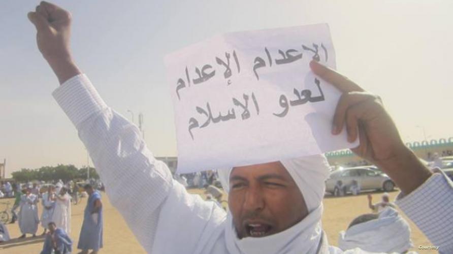 خرجت تظاهرات في موريتانيا تطالب بإعدام ولد امخيطير