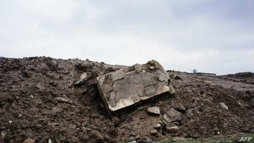 معالم الدمار في مدينة نينوى القديمة بعد هجوم لداعش