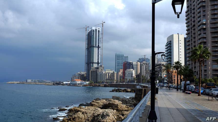 جانب من مدينة بيروت