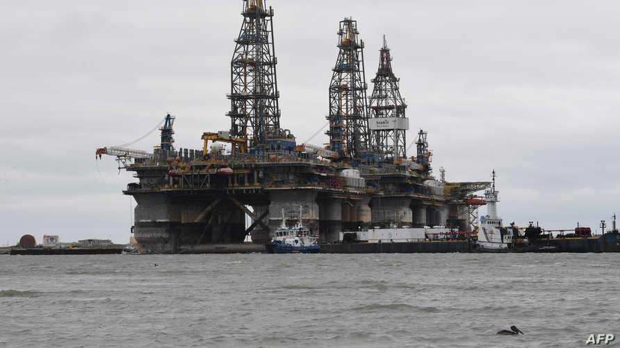 منصة نفطية في تكساس