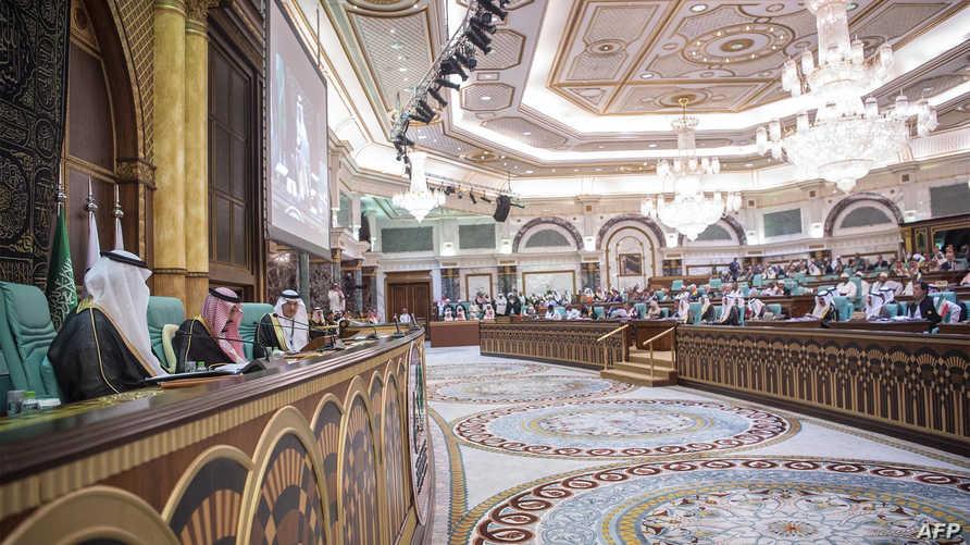 جانب من قمة سابقة لمنظمة التعاون الإسلامي في حضور قادة ومسؤولي 57 دولة