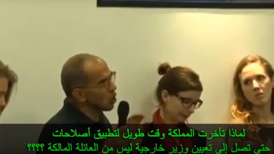 الصحافي يسأل وزير الخارجية السعودية عادل الجبير