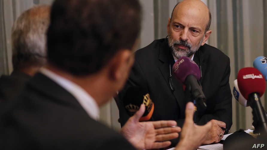 رئيس الحكومة الأردني المكلف عمر الرزاز