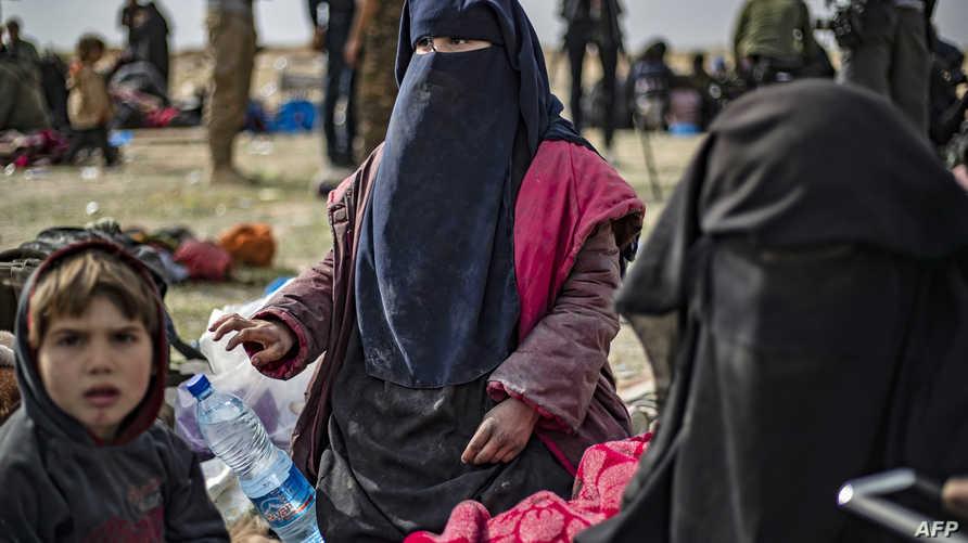 أطفال عناصر داعش من أصول أوروبية في سوريا