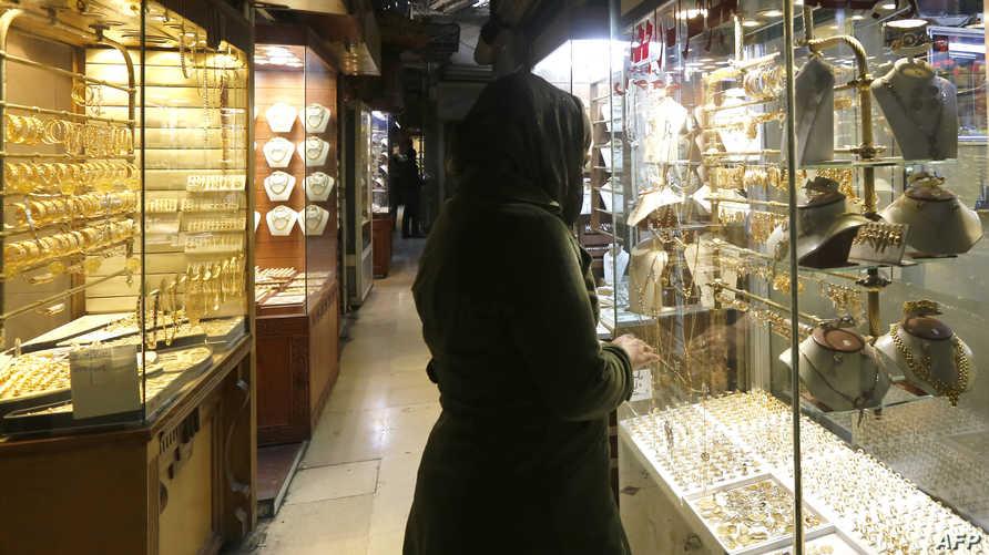 متجر في العاصمة السورية دمشق