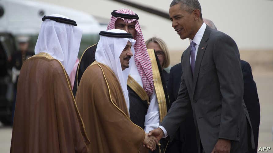 أوباما يصل الرياض