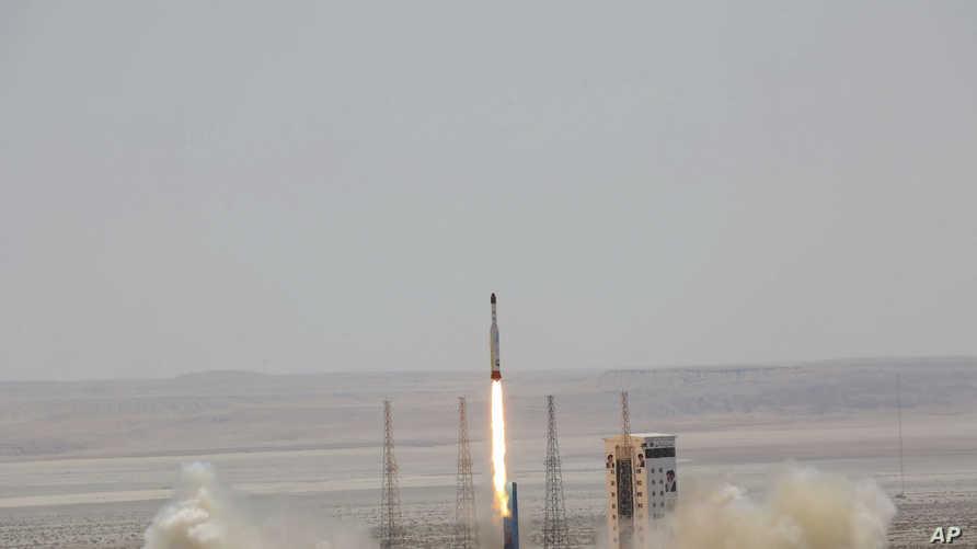 عملية إطلاق صاروخ إيراني، أرشيف
