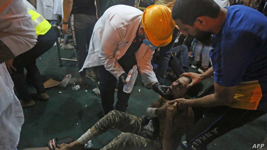 اشتد غضب المحتجين من إيران لتدخلها في الشأن العراقي