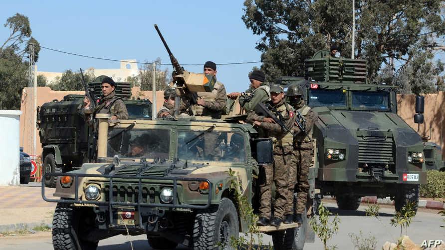 عناصر في الجيش التونسي- أرشيف