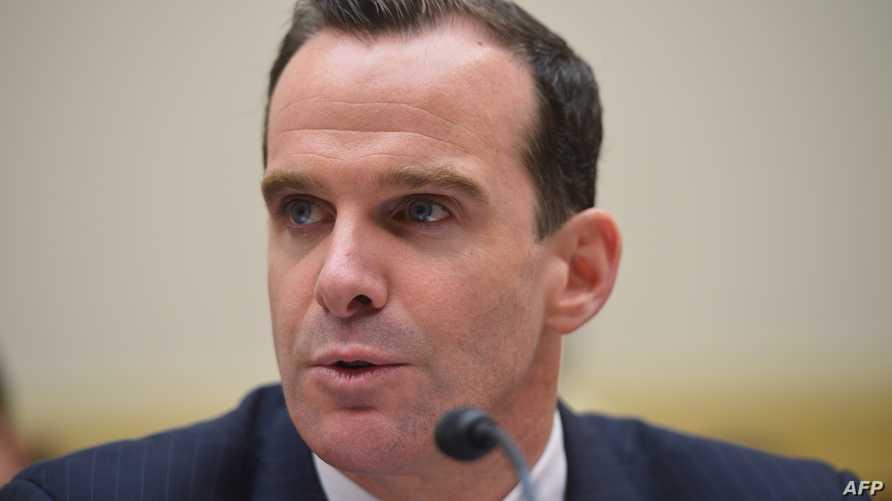 مساعد مبعوث الرئيس الأميركي الخاص للتحالف الدولي لمحاربة داعش برت ماكغيرك