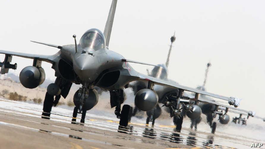 طائرات فرنسية لمحاربة داعش