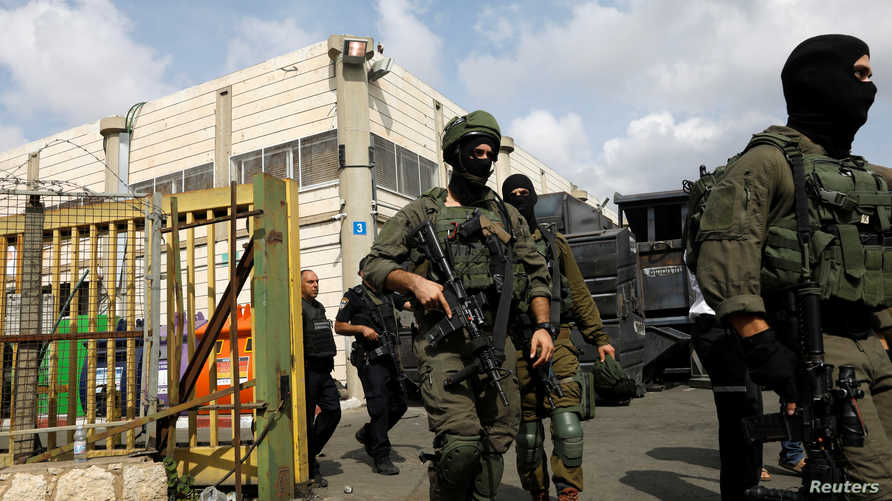 جنود إسرائيليون في الضفة