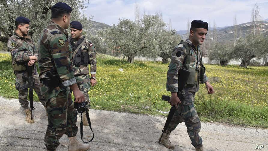 عناصر في الجيش اللبناني- أرشيف