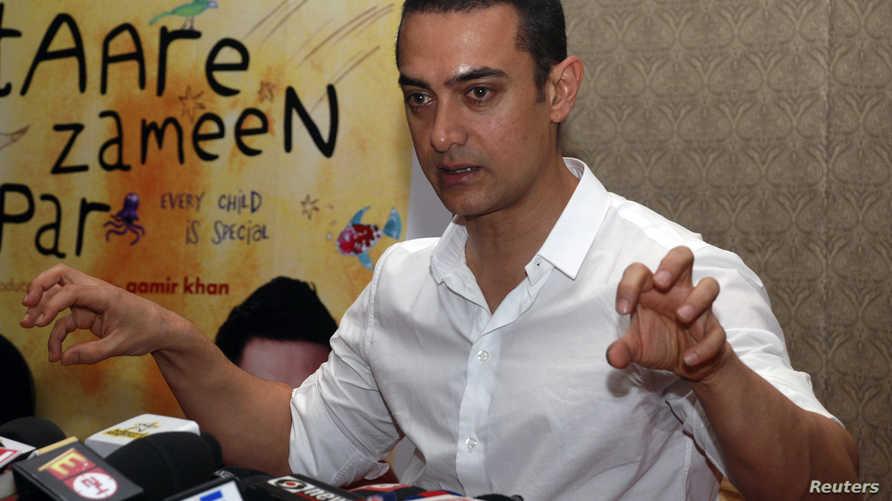 المخرج والممثل الشهير أمير خان