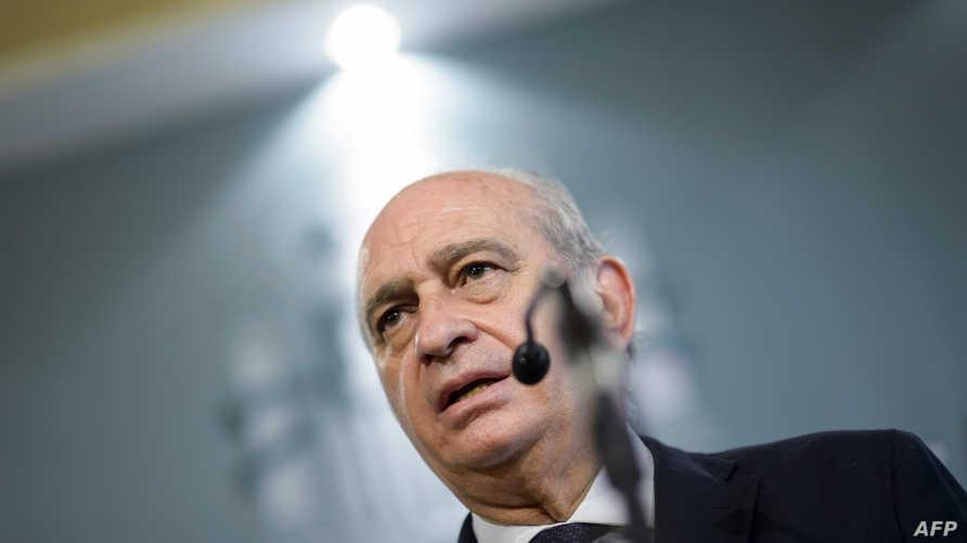 وزير الداخلية الاسباني خورخي فرنانديز دياز
