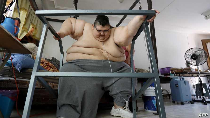 خسر 330 كيلوغراما في 3 سنوات