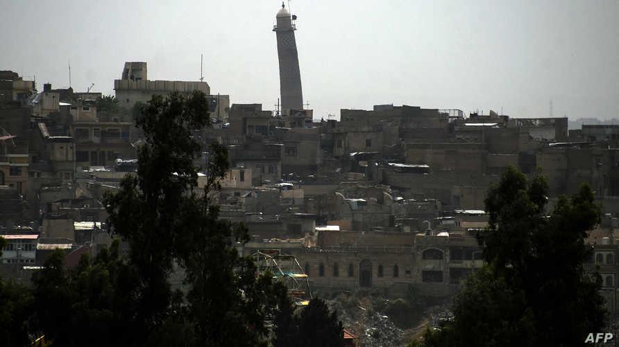 منظر عام لمدينة الموصل القديمة