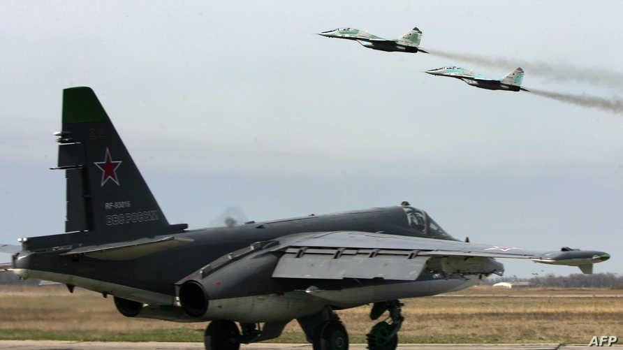مقاتلات روسية (أرشيف)