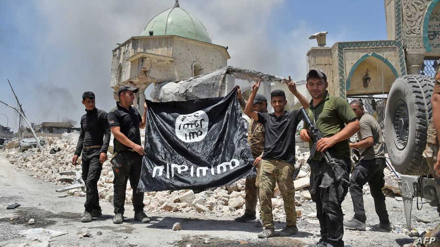 عناصر من قوات مكافحة الإرهاب العراقية في الموصل بعد تحريرها من داعش- أرشيف