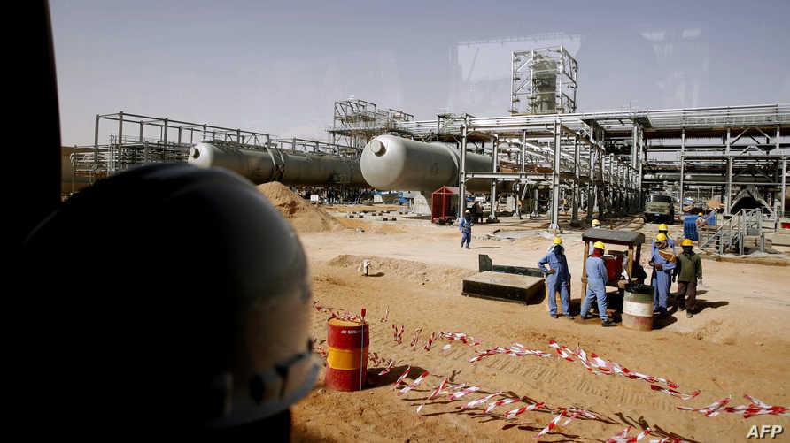 حقل نفطي في السعودية-أرشيف