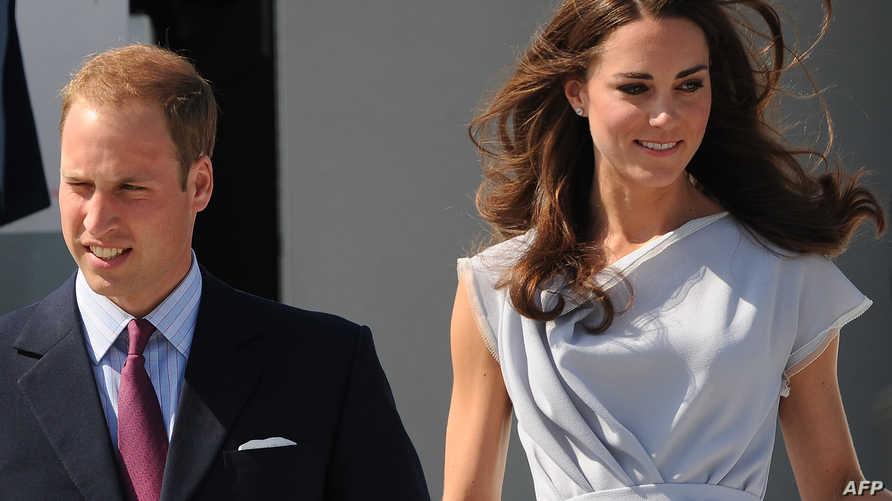 الأمير وليام وزوجته كايت