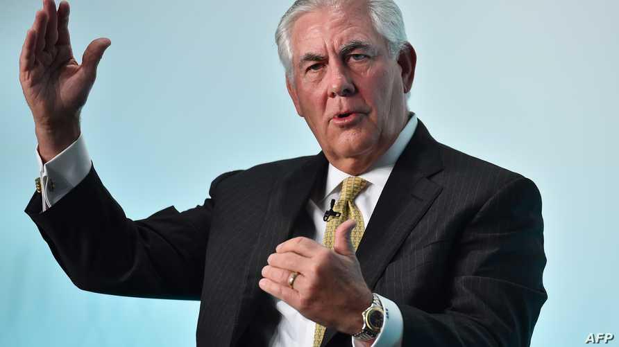 رئيس شركة إيكسون موبيل النفطية ريكس تيليرسون