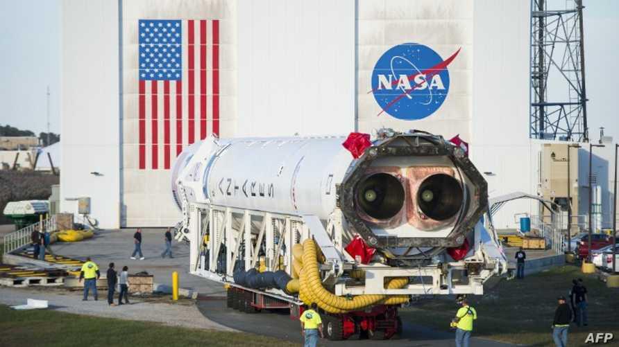 صاروخ أنتاريس المقرر إطلاقه إلى محطة الفضاء الدولية