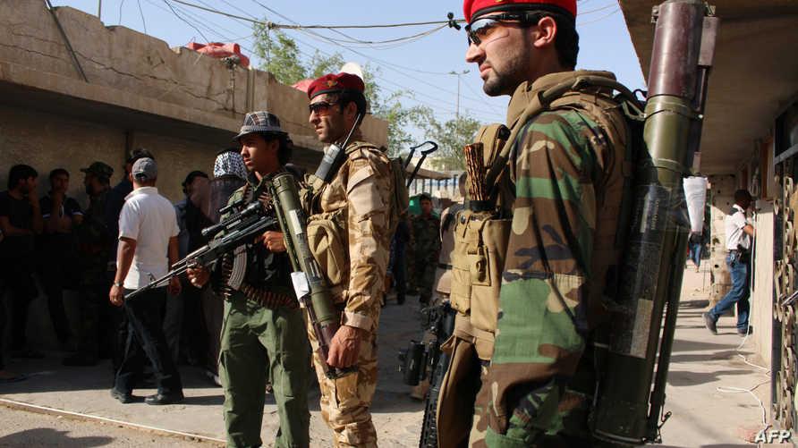 جنود عراقيون جنوب البصرة- أرشيف