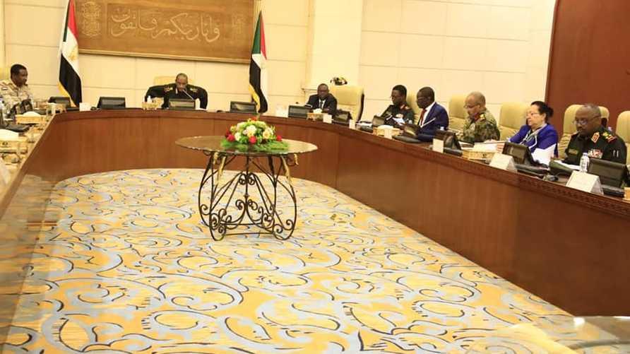 اجتماع المجلس السيادي السوداني
