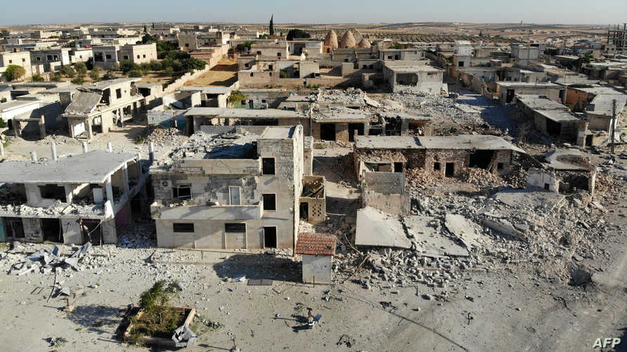 الدمار في محافظة إدلب