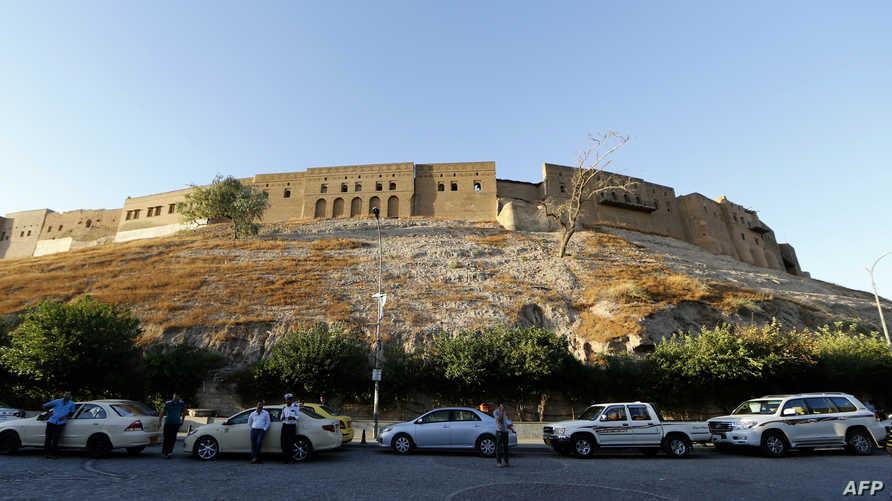 منظر عام لقلعة إربيل