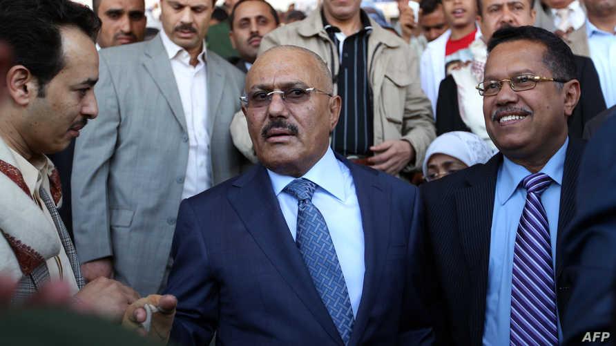 الرئيس السابق علي عبد الله صالح- أرشيف-