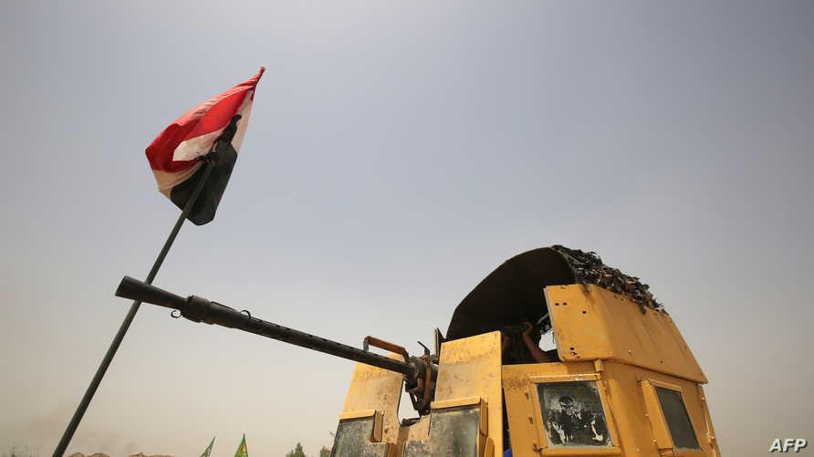 قوات عراقية قرب الفلوجة