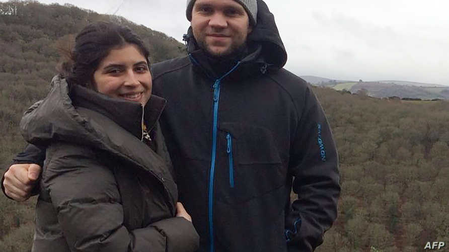 ماثيو هيدجيز وزوجته دانييلا تيجادا
