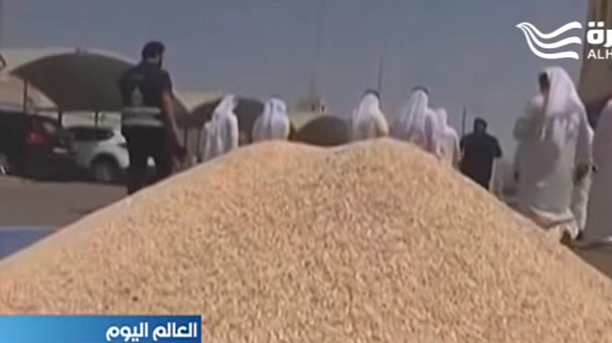 كومة من حبات الكبتاغون المخدر ضبطت في الكويت